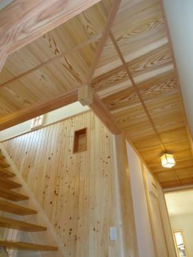 廊下竿縁天井