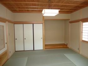 和室と造作建具